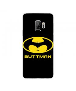 Buttman - Samsung Galaxy S9 Plus Carcasa Transparenta silicon