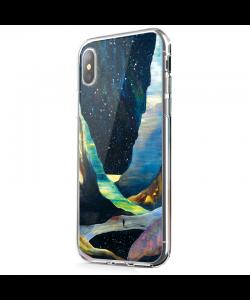 Canyon - iPhone X Carcasa Transparenta Silicon