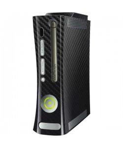 Fibra Carbon Neagra - Xbox 360 HDD Inclus Skin