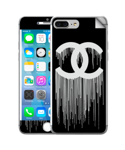 Chanel Drips - iPhone 7 Plus / iPhone 8 Plus Skin