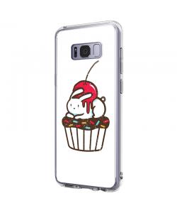Cherry Bunny - Samsung Galaxy S8 Carcasa Premium Silicon
