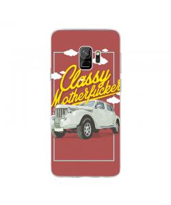 Classy Motherfucker - Samsung Galaxy S9 Carcasa Transparenta Silicon