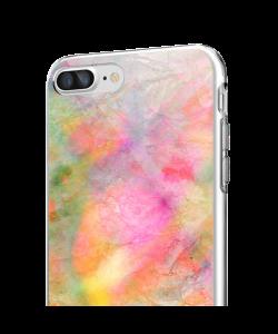 Colored Paper - iPhone 7 Plus / iPhone 8 Plus Carcasa Transparenta Silicon