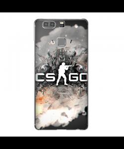 Cs Go - Huawei P9 Plus Carcasa Transparenta Silicon