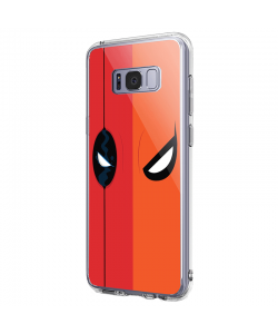 Deadpool vs. Deathstroke - Samsung Galaxy S8 Plus Carcasa Premium Silicon