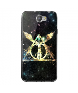 Deathly Hallows - Huawei Y5 II Carcasa Transparenta Silicon