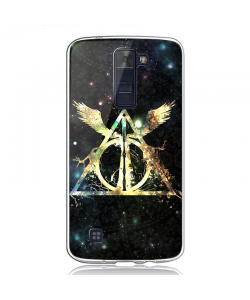 Deathly Hallows - LG K8 Carcasa Transparenta Silicon