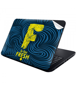 F is for Fresh - Laptop Generic Skin