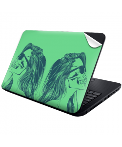 Skull Girl - Laptop Generic Skin