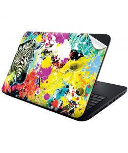 Zebra Splash - Laptop Generic Skin