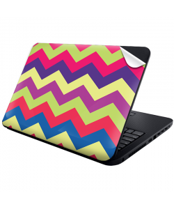 Colorful Zig Zag - Laptop Generic Skin