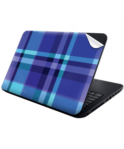Blue Plaid - Laptop Generic Skin
