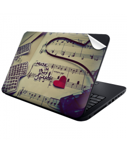 Soul Music - Laptop Generic Skin