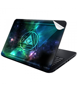Triangle Galaxy 2 - Laptop Generic Skin