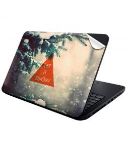 Let it Snow - Laptop Generic Skin
