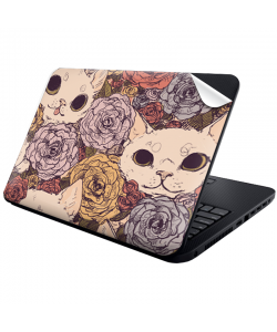 Flower Cats - Laptop Generic Skin