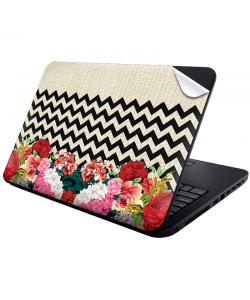 Floral Contrast - Laptop Generic Skin