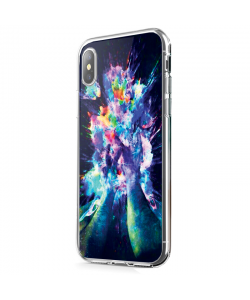 Explosive Thoughts - iPhone X Carcasa Transparenta Silicon