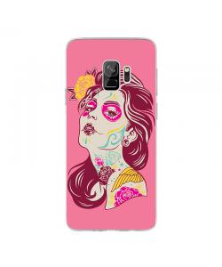 Fabulous Tattoos - Samsung Galaxy S9 Carcasa Transparenta Silicon