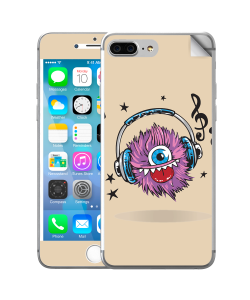 Fluffy Headphones - iPhone 7 Plus Skin