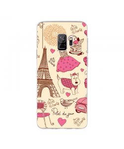 France - Samsung Galaxy S9 Carcasa Transparenta Silicon