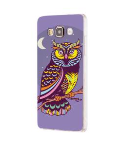 Purple Nights - Samsung Galaxy J5 Carcasa Silicon