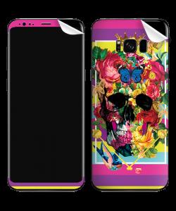 Floral Explosion Skull - Samsung Galaxy S8 Plus Skin