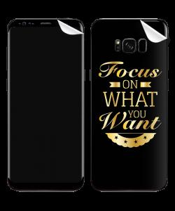 Focus - Samsung Galaxy S8 Plus Skin
