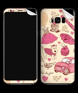 France - Samsung Galaxy S8 Plus Skin