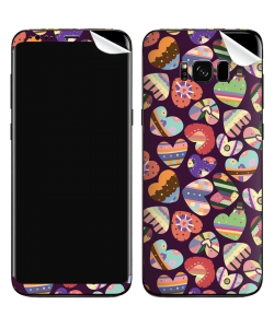 Kandy Hearts - Samsung Galaxy S8 Plus Skin
