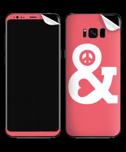 Peace & Love - Samsung Galaxy S8 Plus Skin