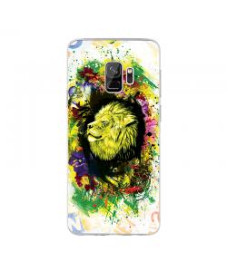 Gold Lion - Samsung Galaxy S9 Carcasa Transparenta Silicon
