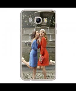 Gossip Girl - Samsung Galaxy J7 2017 Carcasa Transparenta Silicon