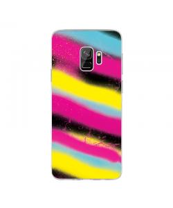 Graffiti Paint - Samsung Galaxy S9 Carcasa Transparenta Silicon