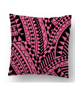 Perna decorativa - Pink & Black