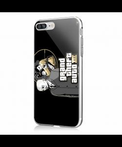 GTA - iPhone 7 Plus / iPhone 8 Plus Carcasa Transparenta Silicon