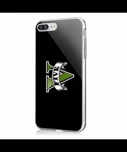 GTA V - iPhone 7 Plus / iPhone 8 Plus Carcasa Transparenta Silicon