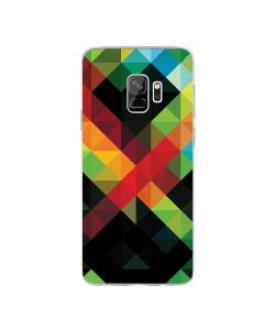 Half Shades - Samsung Galaxy S9 Carcasa Transparenta Silicon