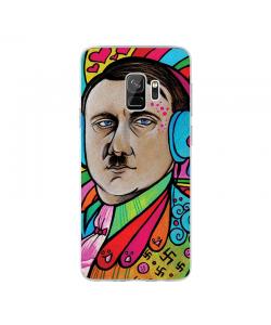 Hitler Meets Colors - Samsung Galaxy S9 Plus Carcasa Transparenta silicon