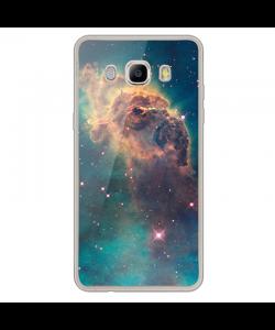 Horse's Head - Samsung Galaxy J7 Carcasa Silicon Transparent