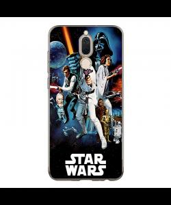 Star Wars Poster - Huawei Mate 10 Lite Carcasa Transparenta Silicon