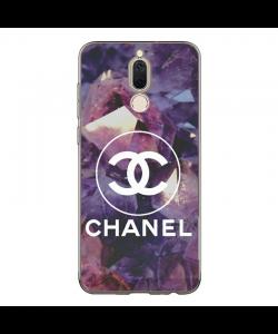 Chanel Diamonds - Huawei Mate 10 Lite Carcasa Transparenta Silicon