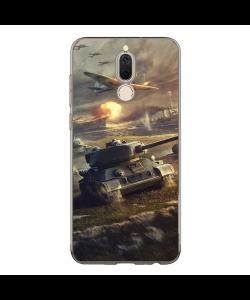 World of Tanks - Huawei Mate 10 Lite Carcasa Transparenta Silicon