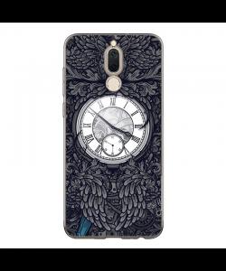 Gothic Clock - Huawei Mate 10 Lite Carcasa Transparenta Silicon