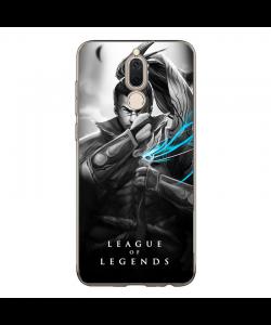 League of Legends Yasuo - Huawei Mate 10 Lite Carcasa Transparenta Silicon