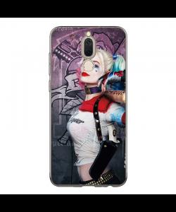 Suicide Squad Poster HQ - Huawei Mate 10 Lite Carcasa Transparenta Silicon