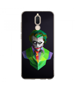 Low Poly Joker - Huawei Mate 10 Lite Carcasa Transparenta Silicon