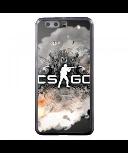 CS Go 4 - Huawei P10 Plus Carcasa Transparenta Silicon