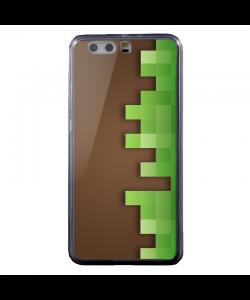 Minecraft - Huawei P8 Lite Carcasa Transparenta Silicon