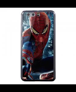 Spiderman - Huawei P8 Lite Carcasa Transparenta Silicon